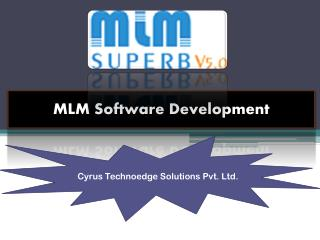 MLM Software Jaipur - Cyrus