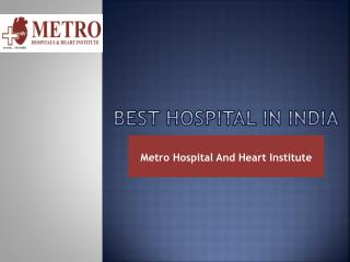 Best Heart Hospital in India
