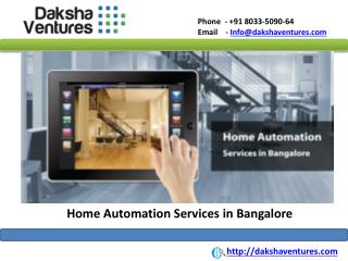 Home Automation Services in Bangalore