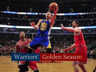 Warriors' golden season