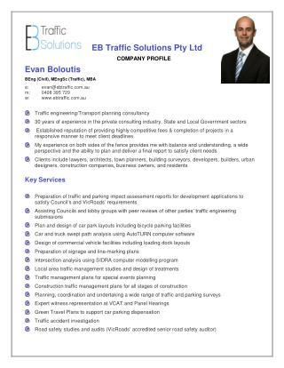 EB Traffic - Company Profile