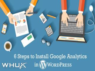6 Steps to Install Google Analytics in WordPress