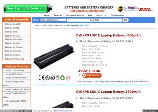 http://www.new-laptopbatteries.com/dell-xps-l501x.html