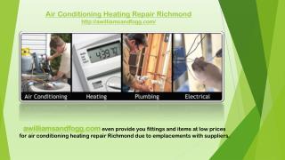 Air conditioning heating repair richmond