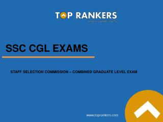 SSC CGL Free Online Exam Test Series by Toprankers
