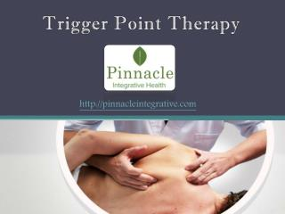 Trigger Point Therapy - Pinnacle Integrative