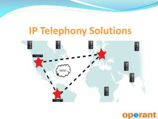 IP Telephony Solutions
