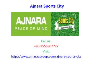 Ajnara Sports City luxurious Society