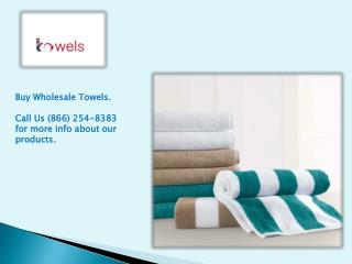 Cabana Beach Bulk Towels