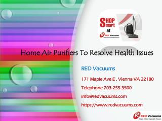 Home Air Purifiers To Resolve Health Issues