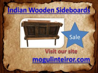 Indian Wooden Sidebords