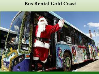 Bus Rental Gold Coast