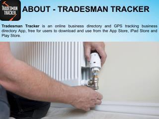 Tradesman Tracker-Listing