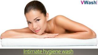 Intimate hygiene wash