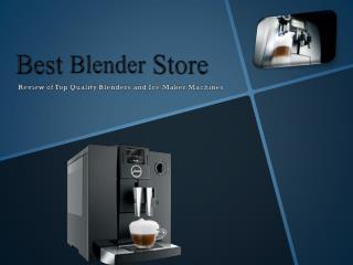 Best Blender Store