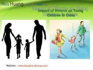Impact of Divorce on Young Children in China