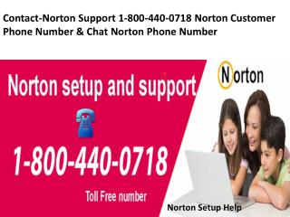 Contact-Norton Support 1-800-440-0718 Norton Customers Phone Number & Chat
