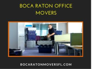 Boca Raton Office Movers