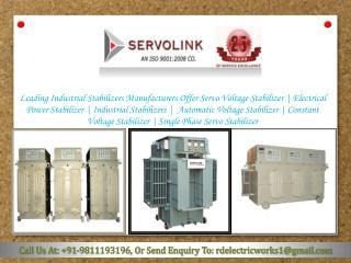 Industrial Stabilizer Manufacturers