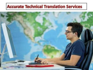 Accurate Technical Translation Services