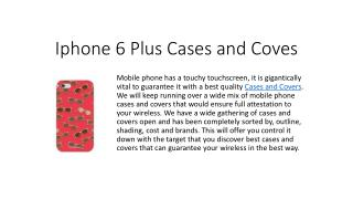 iPhone 6 Plus Cases | mobile cases and covers