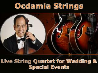 Live String Quartet - Ocdamia Strings