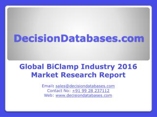 BiClamp Market Global Analysis and Forecasts 2021