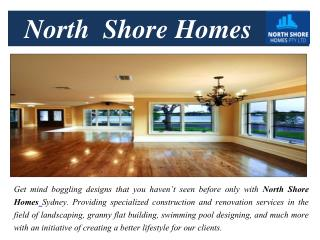 North shore homes beautiful Sydney builders
