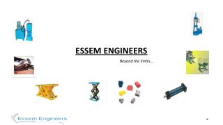 Foot Mounted Hydraulic Cylinders - Essem Engineers