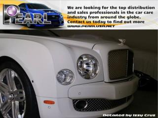 Safe and effective car cleaning product- Pearl Waterless Car Wash