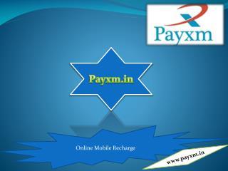 Online Recharge Website - Payxm