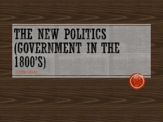 Mayer - World History - The New Politics