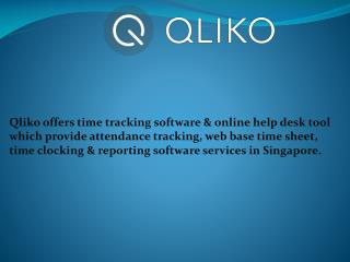 Qliko time tracking software
