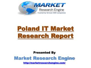 Poland IT Market Scenario is Expected to cross $13.00 billion by the end of 2020