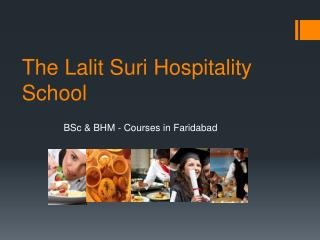 BSc in Hospitality and Hotel Administration