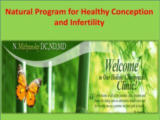 Natural Program for Healthy Conception and Infertility.pptx