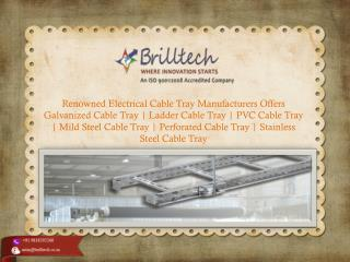 Galvanized Cable Tray Manufacturers