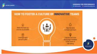How to Foster a Culture of Innovative Teams