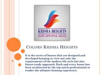 Colors Krisha Heights