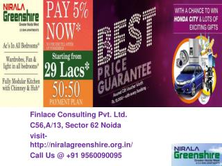 Nirala Greenshire Greater Noida Call@ 9560090095