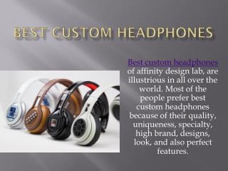 Custom earbuds