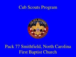 Cub Scouts Program