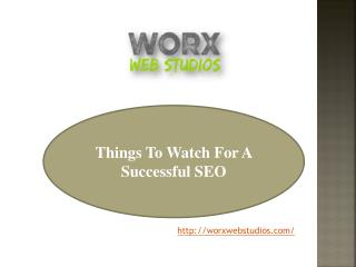 Things to watch for a successful SEO