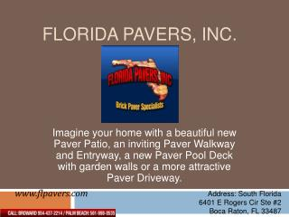 Patio pavers broward, Travertine pavers broward