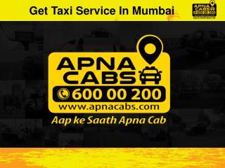 Get Taxi Service In Mumbai