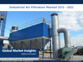 Industrial Air Filtration Market: Global Market Insights, Inc.