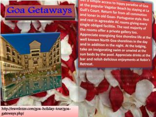 Goa Getaways (3N/4D)