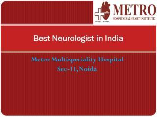 Best Neurologist in India
