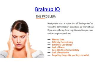 Enhance Your Mental Health with Brainup IQ