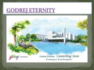 Godrej Eternity Bangalore, Near By Bannerghatta Road, Mysore Road